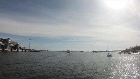 船から見たフィンランドの海の景色 ビデオ