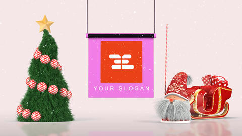 Christmas Santa Opener 3 Plantilla de After Effects