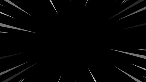 Comic speed radial Animation