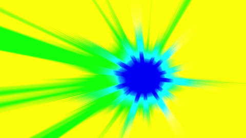 Light Fx Spot Effect Cartoon Explosion Loop Background Animation