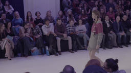 Fashion show in the process Footage
