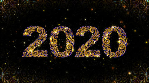 Ornate 2019 New Year Animation Animation