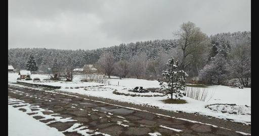 First Snow Footage