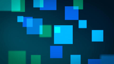 HD Floating Squares Motion Background Animation (Loopable) Animation