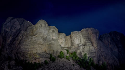 Mount Rushmore Time Lapse Footage