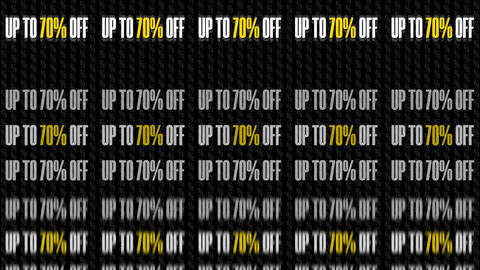 Text Animation With Message Up To 70 Percent Off 8K GIF