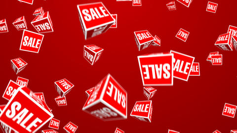 Sale box Stock Video Footage