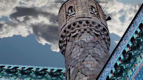 minaret Stock Video Footage