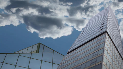 Skyscraper stock footage