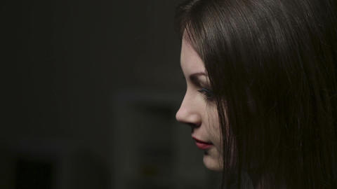 Making a portrait Stock Video Footage