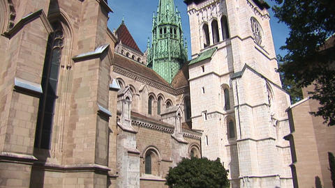 The St. Pierre Cathedral a Stock Video Footage