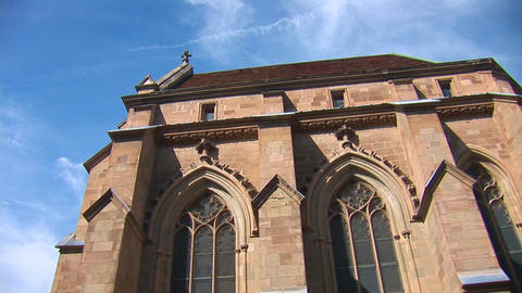 The St. Pierre Cathedral c Stock Video Footage