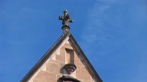 The St. Pierre Cathedral e Stock Video Footage