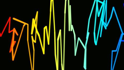 colorful graffiti Stock Video Footage