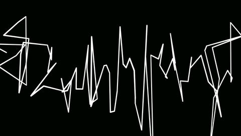 lines graffiti Animation