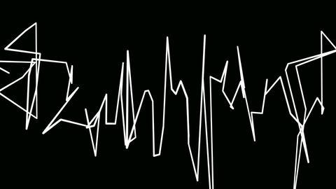 lines graffiti Animation