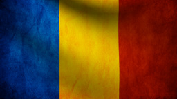 Romania flag Animation