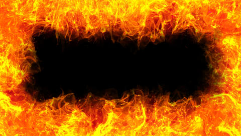 Fire Mir Frame 03 A stock footage