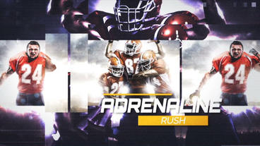 Adrenaline Slideshow After Effects Template