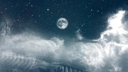 Night sky Animation