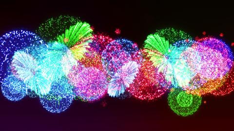 Fireworks Festival 5 Fn1op 4k CG動画