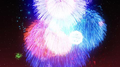 Fireworks Festival 5 Em3 4k CG動画