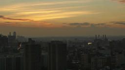 Night to Day Timelapse Over Midtown Manhattan Footage