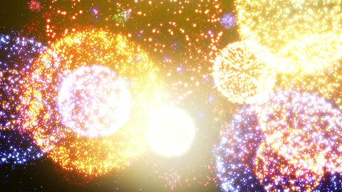 Fireworks Festival 5 En2 4k Animation