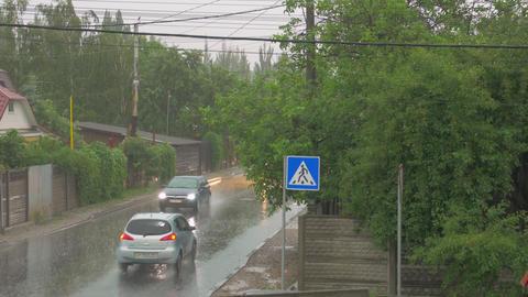 The Cars Ride In The Rain Archivo