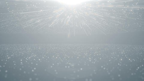 Particles white business clean bright glitter bokeh dust abstract background loop Videos animados