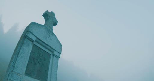 Cross in Fog Morning ビデオ