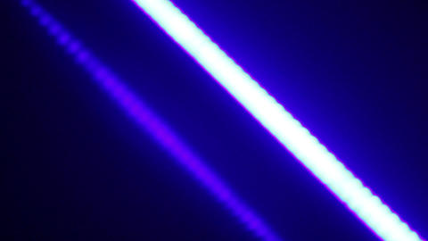 Abstract image of moving diagonal line and it's flare shot in club during party Footage