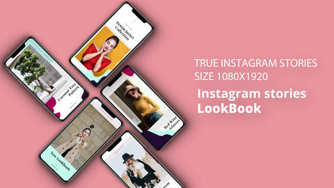 Instagram Stories: LookBook After Effects Template