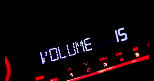 Car radio volume up 2 Live Action