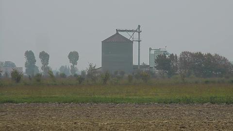Grain dryer industry Footage