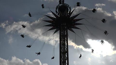 Amusement Park Chair Ride Live Action