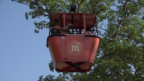 Amusement Park Cable Car Live Action