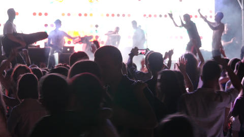 Young People Dancing In Night Club Footage