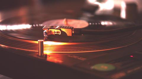 Needle DJ turntables #4 Footage