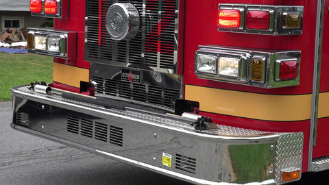 Fire Truck or Emergency Response Vehicle Footage