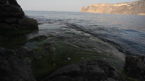 Sea Waves Coast Background Footage