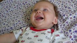 Cute Newborn Baby Boy Footage