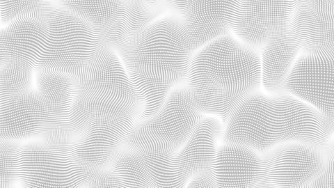 Waves From Dots Particles Background Animation