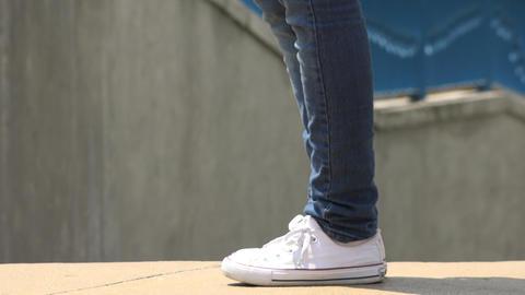 Sneakers, Athletic Shoes, Footwear Footage