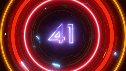 Xmas 60sec Countdown CG動画