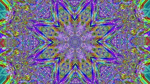 Casual elegant neon futuristic shimmering kaleidoscope. Dreamy iridescent colors Footage