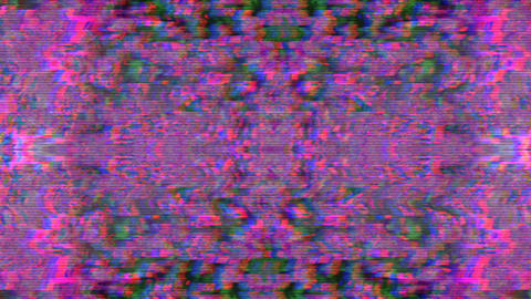 Multi-colored dynamic sci-fi elegant bad trip background Footage