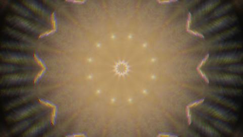 Digital casual geometrical nostalgic glittering kaleidoscopic pattern Footage
