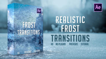 Frost Transitions Plantilla de After Effects