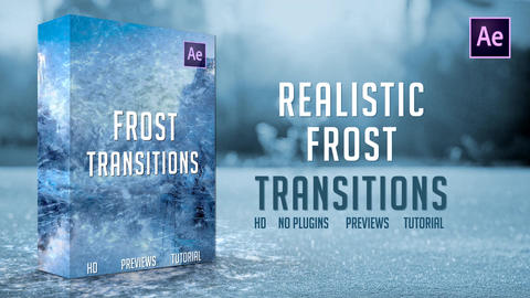 Frost Transitions After Effects Template
